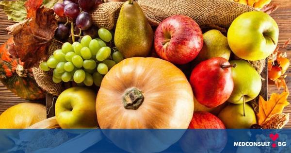 Храни, на които трябва да се наблегне през есента