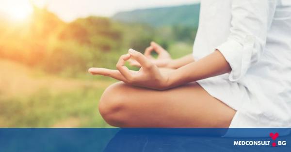 Медитацията води до положителни мисли и настроение