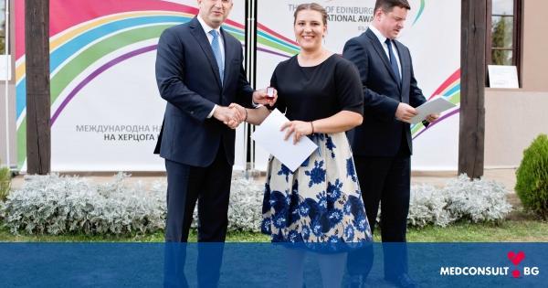 Служител на МУ-Варна със златно отличие от Международната награда на херцога на Единбург