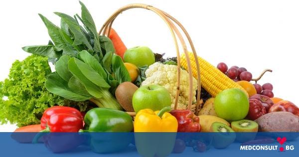 Колко плодове и зеленчуци трябва се консумират