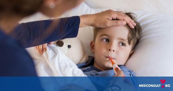 Как да свалите висока температура при деца