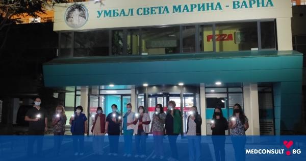 """Медици от УМБАЛ """"Св. Марина"""" - Варна с призив за спазване на противоепидемичните мерки"""