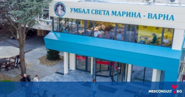 """811 пациенти са преминали през спешните центрове в УМБАЛ """"Св. Марина"""" - Варна в периода 12-18 април"""