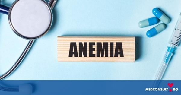 Бледа кожа и главоболие могат да бъдат симптоми на анемия